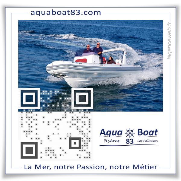 QR Code Aqua Boat 83