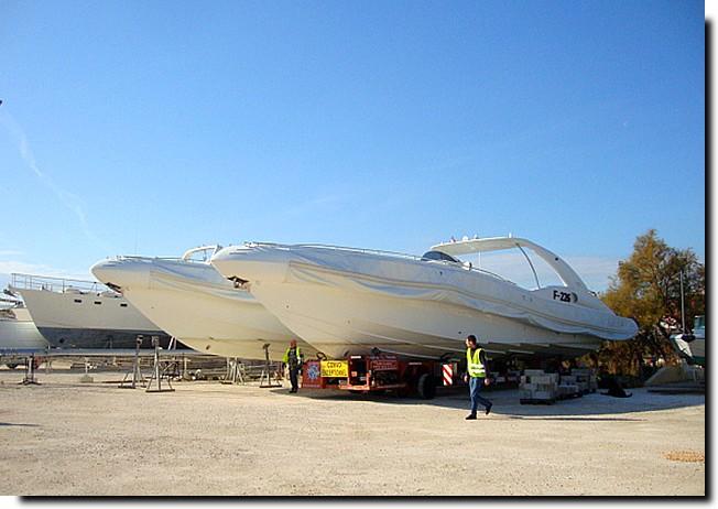 Aqua Boat 83 - Stationnement